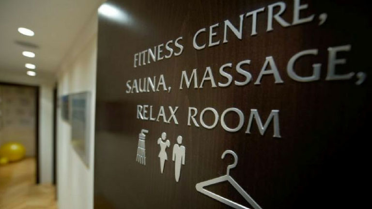 Šatňa wellness centrum
